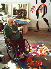 Matisse in his wheelchair