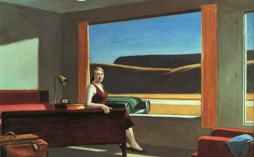 Edward Hopper - Western Motel