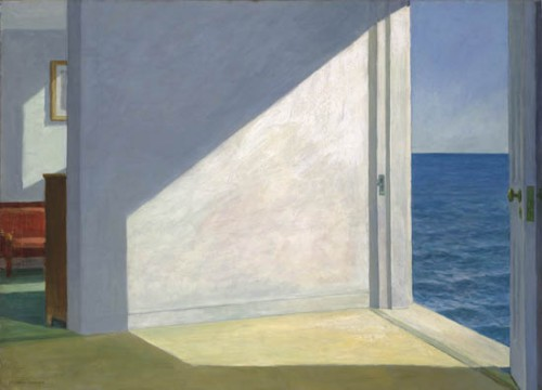 Edward Hopper - Room by the Sea