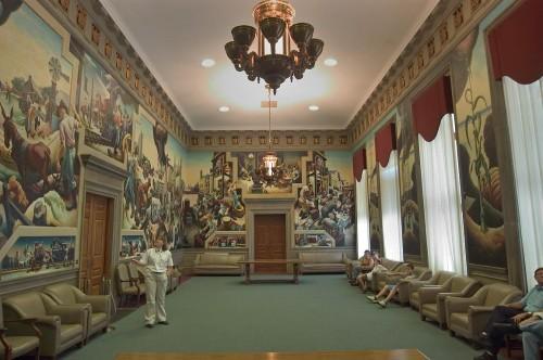 Benton Murals - Missouri State House