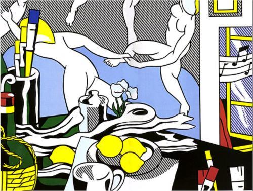 lichtenstein-artistsstudio-thedance-1974