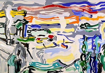 lichtenstein-coast-village-1987