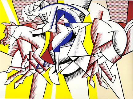 lichtenstein-the-red-horseman-1974