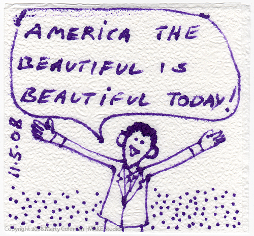 america the beautiful 2008