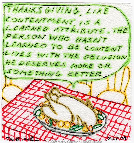 Thanksgiving #1 - 2009