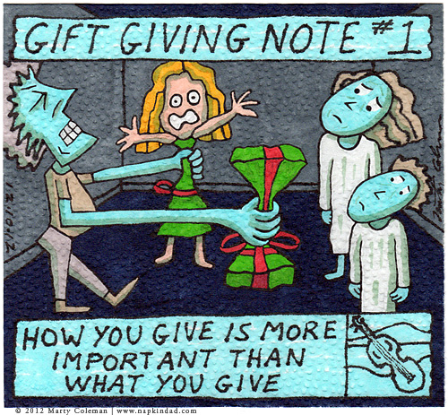 gift giving note #1