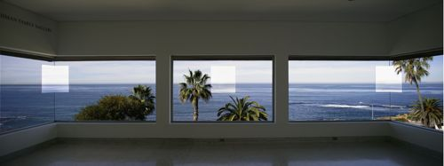Robert Irwin - 1°2°3°4° - gallery view, San Diego, California
