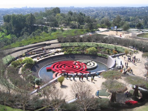 Robert Irwin - Getty Gardens