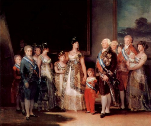 charles iv and family