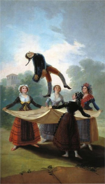 goya - the straw manikin - 1792