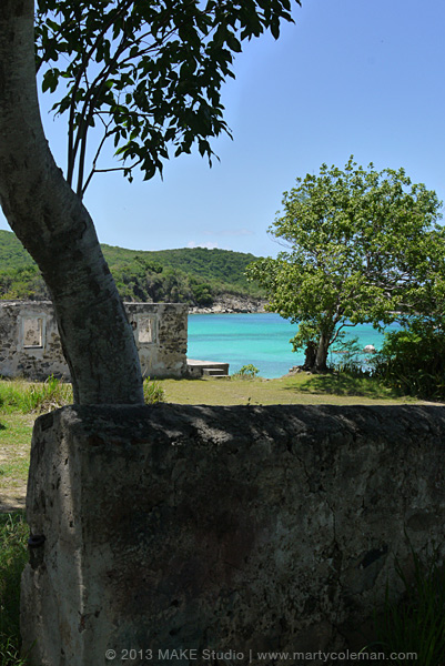 Ruins and Little Lameshur Bay