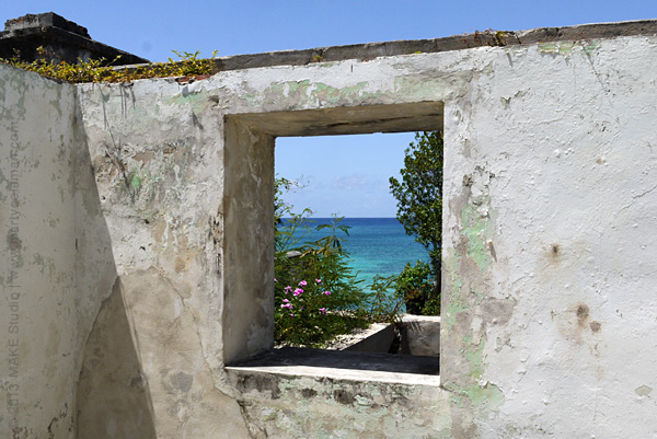 Window onto Lameshur Bay