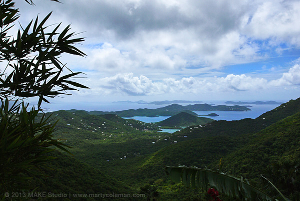 St. John Island USVI, East End and Coral Bay