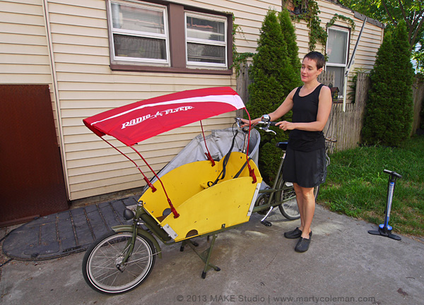 nina levy and the transportation device
