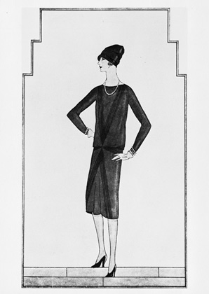 Original Coco Chanel drawing - 1926
