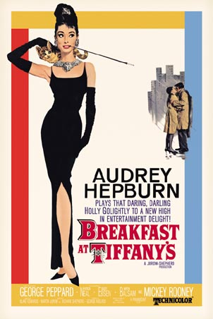Breakfast at Tiffany's poster - 1961