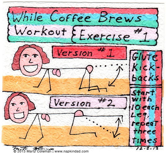The 'While Coffee Brews' Workout – Exercise #1