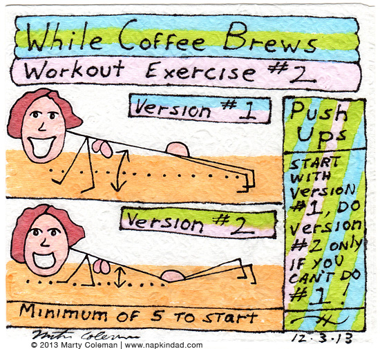 The 'While Coffee Brews' Workout – Exercise #2