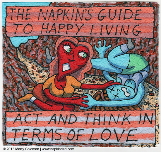 TheNapkin's Guide to happy living 1