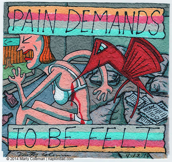Pain and Suffering #4