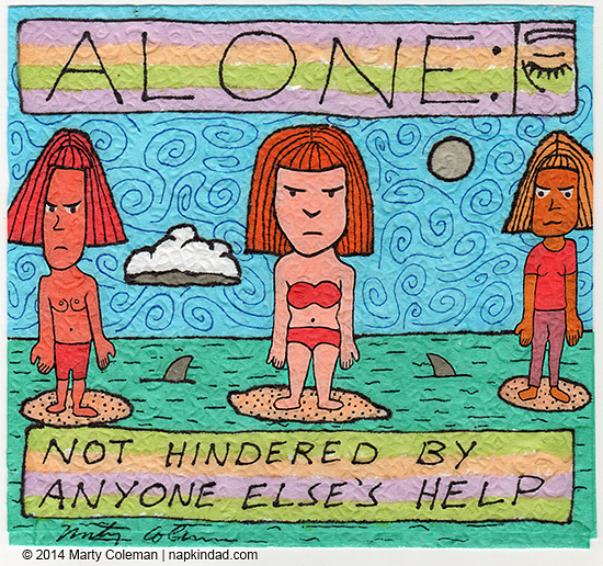 Being Alone #2 - from the series formerly known as 'Unnamed'