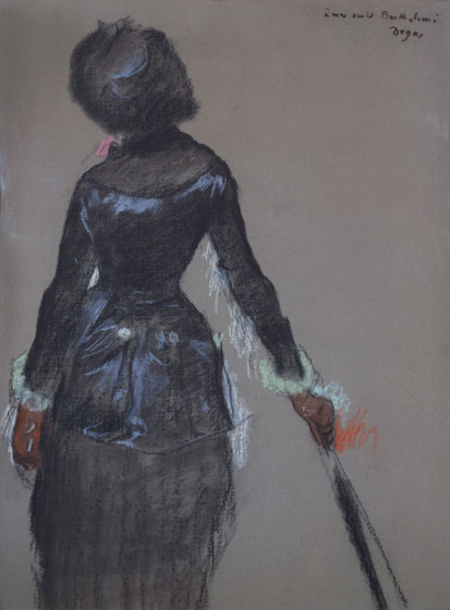 marycassattatthelouvre-bydegas-pastel-1879