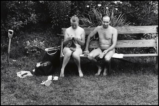 Nudists, Kent, England, 1968 © Elliot Erwitt