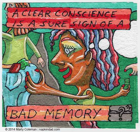 Forgetting to Remember - Conscience #2