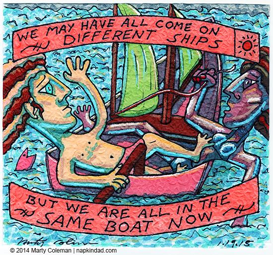 Different Ships, Same Boat - MLK Day 2015